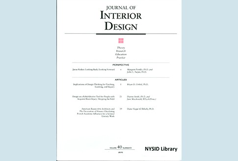 Journal of Interior Design Available Online