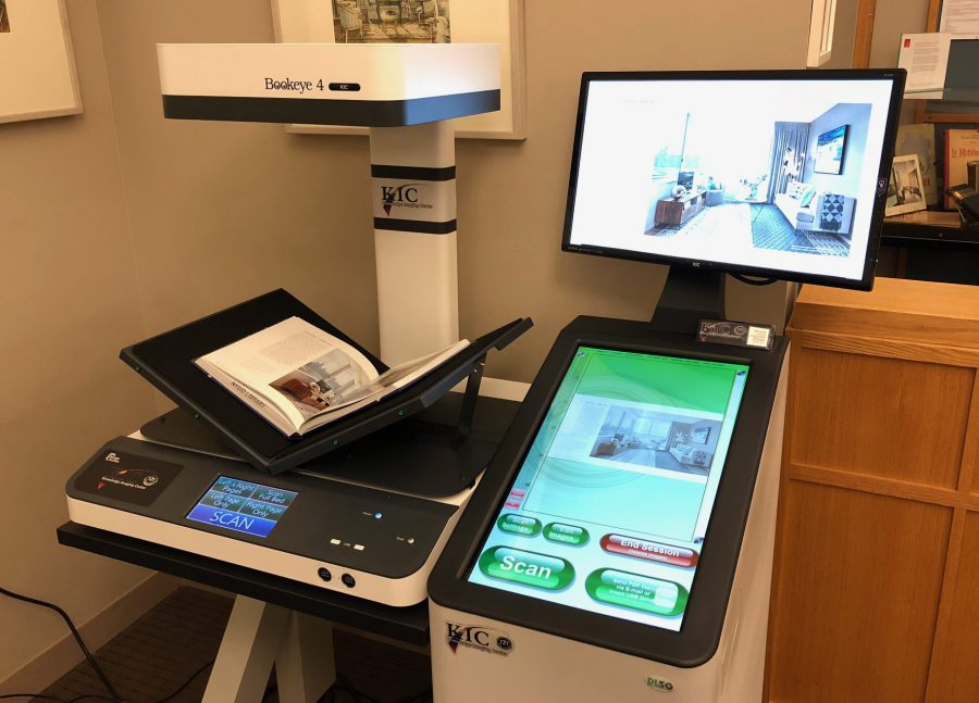New state-of-the-art scanner in the Library!